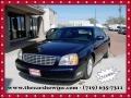Blue Onyx Metallic 2002 Cadillac DeVille Sedan