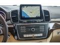 Navigation of 2017 GLS 450 4Matic