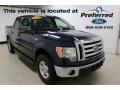 Dark Blue Pearl Metallic 2010 Ford F150 Lariat SuperCrew 4x4
