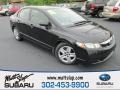 Crystal Black Pearl 2010 Honda Civic LX Sedan