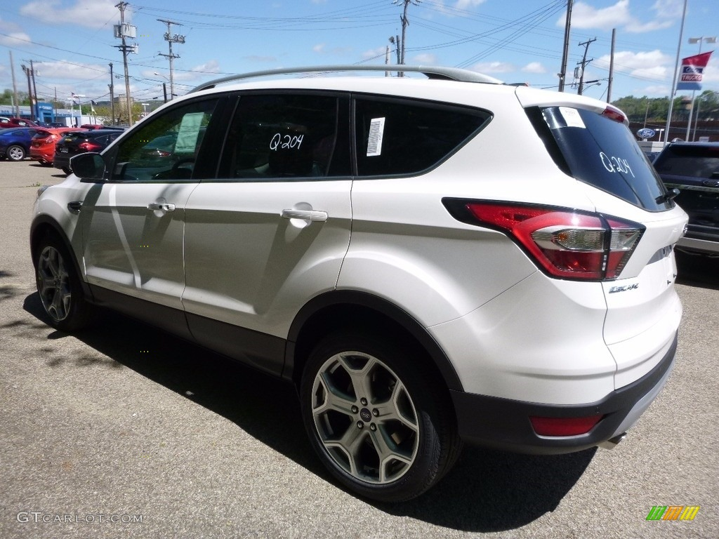 2017 white platinum ford escape titanium 4wd 112772771 photo 4 car color. Black Bedroom Furniture Sets. Home Design Ideas