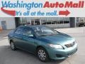 Capri Sea Green Metallic 2009 Toyota Corolla LE