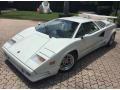 White 1989 Lamborghini Countach 25th Anniversary Edition