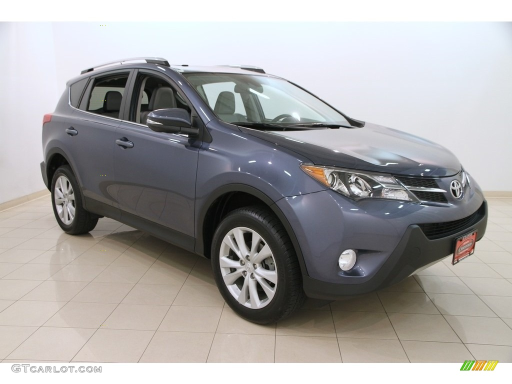 2014 shoreline blue pearl toyota rav4 limited awd. Black Bedroom Furniture Sets. Home Design Ideas