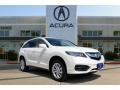White Diamond Pearl 2017 Acura RDX Technology