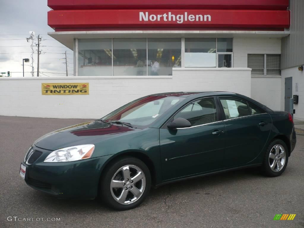 2007 Emerald Green Metallic Pontiac G6 Gt Sedan 11254638