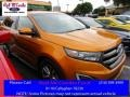 Electric Spice Metallic 2015 Ford Edge Sport