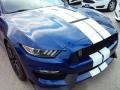 2016 Deep Impact Blue Metallic Ford Mustang Shelby GT350  photo #3