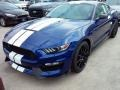 2016 Deep Impact Blue Metallic Ford Mustang Shelby GT350  photo #5