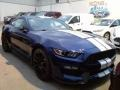 2016 Deep Impact Blue Metallic Ford Mustang Shelby GT350  photo #9