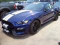 2016 Deep Impact Blue Metallic Ford Mustang Shelby GT350  photo #13