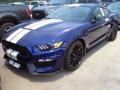 2016 Deep Impact Blue Metallic Ford Mustang Shelby GT350  photo #14