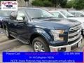 Blue Jeans 2016 Ford F150 Lariat SuperCrew 4x4