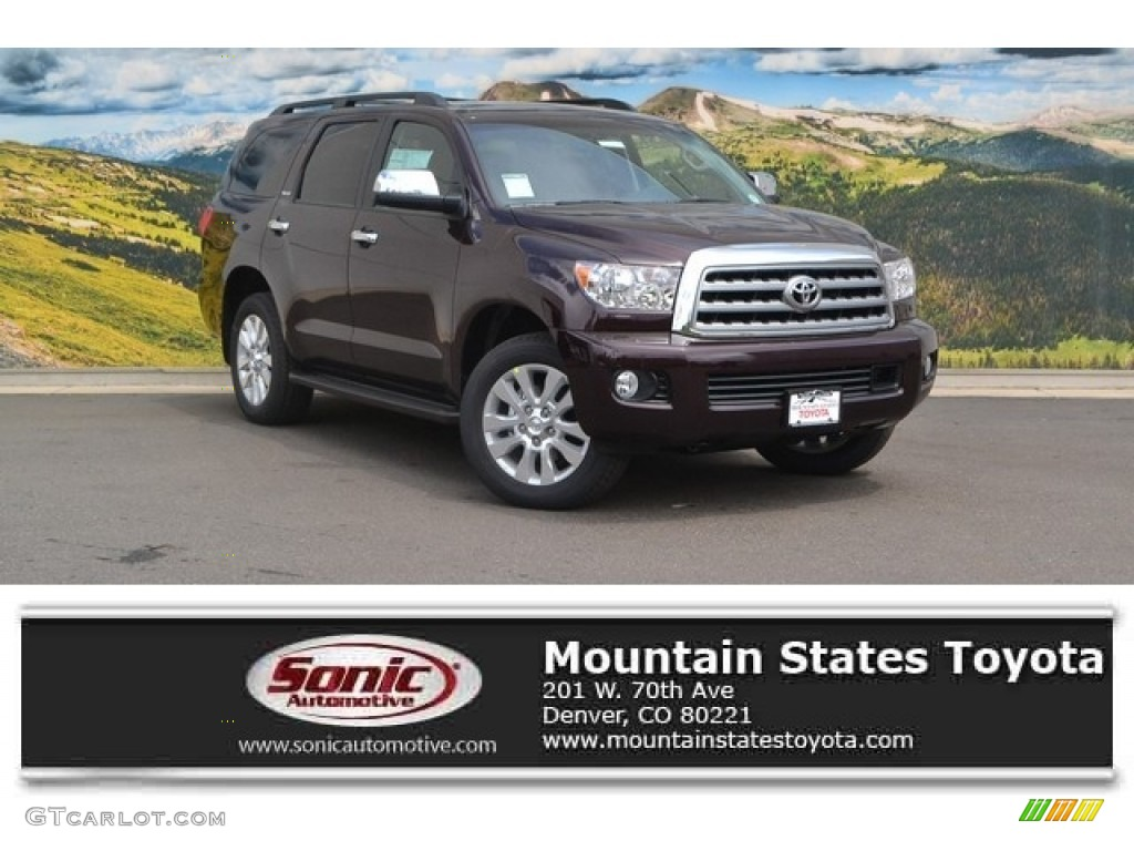 2016 sizzling crimson mica toyota sequoia platinum 4x4 112893259 photo 11 car. Black Bedroom Furniture Sets. Home Design Ideas