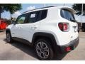 2016 Alpine White Jeep Renegade Limited  photo #2