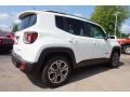 2016 Alpine White Jeep Renegade Limited  photo #3