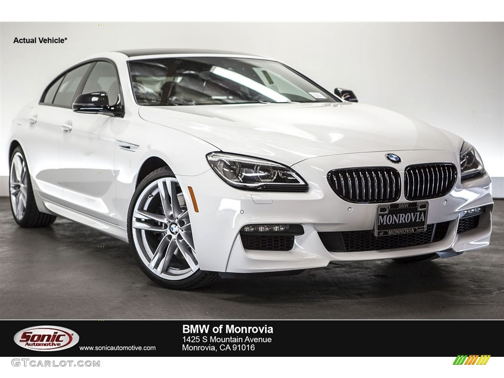 2017 alpine white bmw 6 series 640i gran coupe 112921160 photo 2 car color. Black Bedroom Furniture Sets. Home Design Ideas