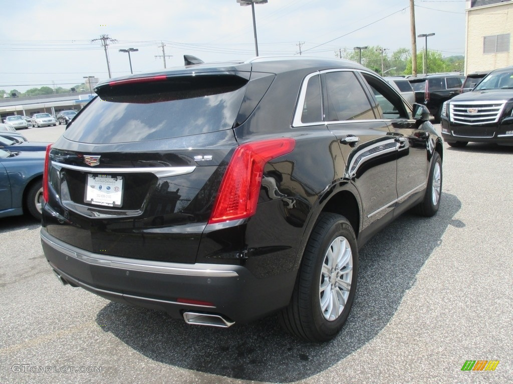 2017 Stellar Black Metallic Cadillac Xt5 Fwd 112920926 Photo 4 Car Color