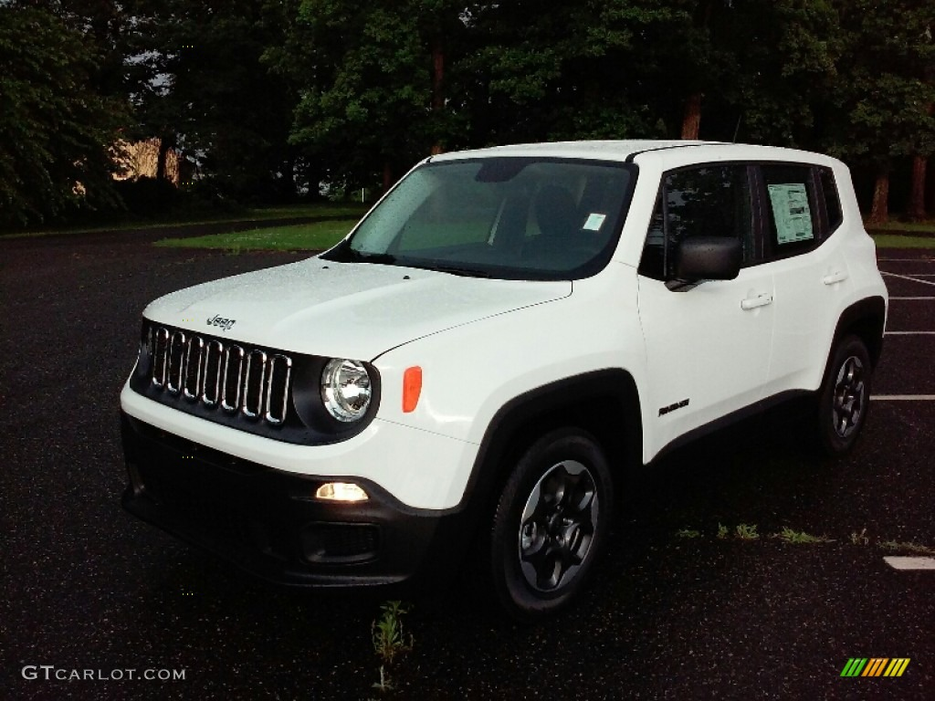 2016 Renegade Sport - Alpine White / Black photo #8