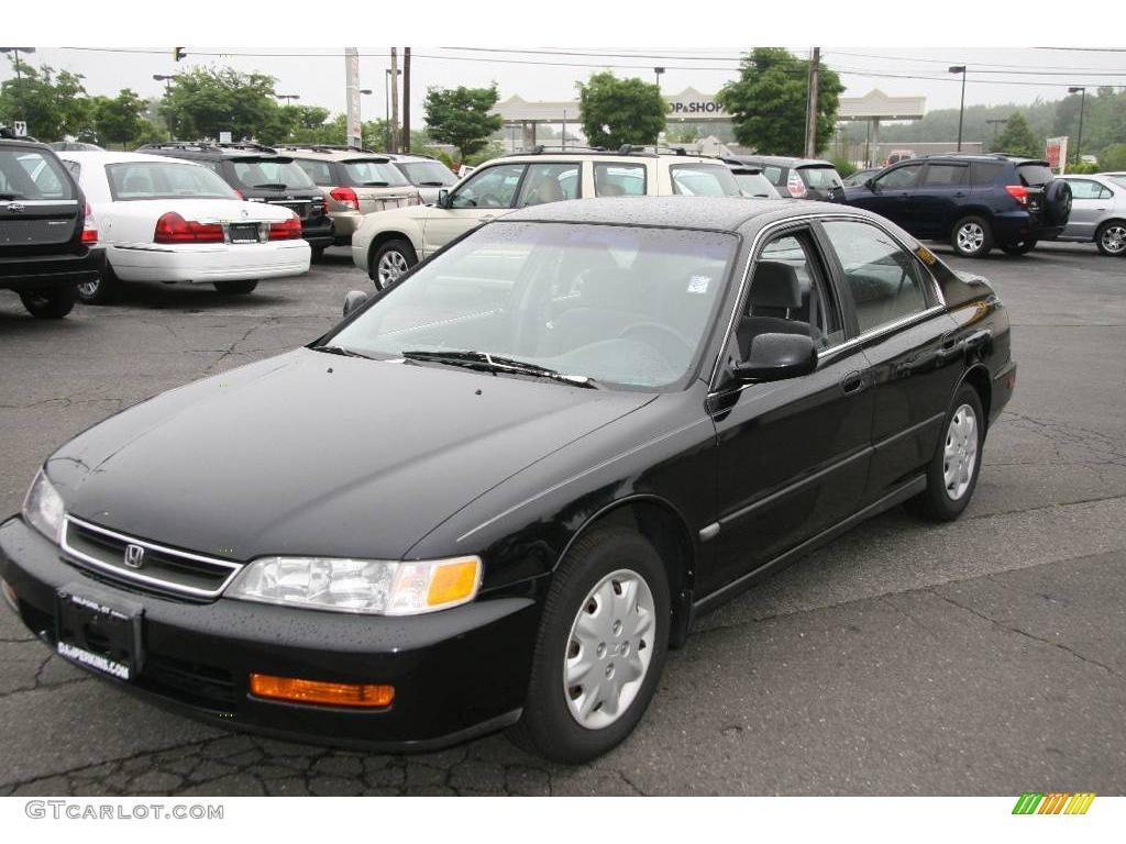1996 Granada Black Pearl Metallic Honda Accord Lx Sedan