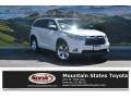 Blizzard Pearl 2016 Toyota Highlander Limited Platinum AWD