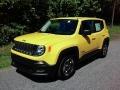 2016 Solar Yellow Jeep Renegade Sport  photo #8