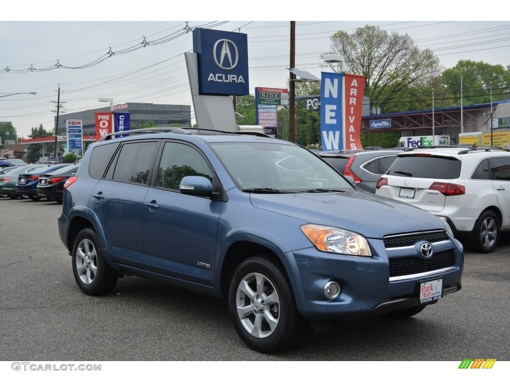 2011 pacific blue metallic toyota rav4 limited 4wd 112949012 car color galleries. Black Bedroom Furniture Sets. Home Design Ideas