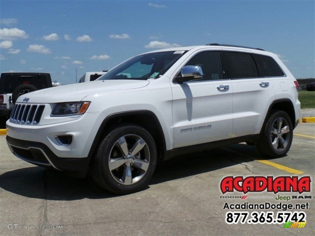 2016 bright white jeep grand cherokee limited 112986355. Black Bedroom Furniture Sets. Home Design Ideas