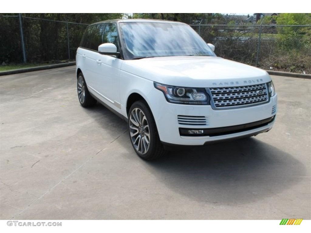 2016 Range Rover Supercharged - Fuji White / Ebony/Ebony photo #1