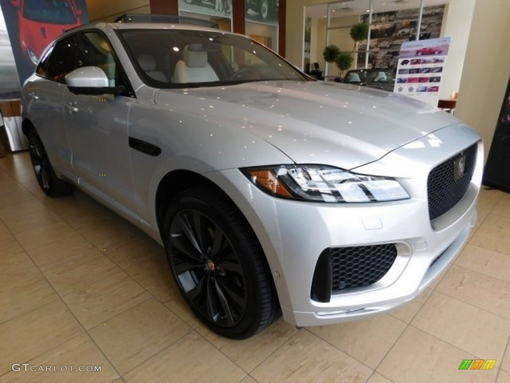 2017 rodium silver jaguar f pace 35t awd first edition 113001554 photo 2 car. Black Bedroom Furniture Sets. Home Design Ideas