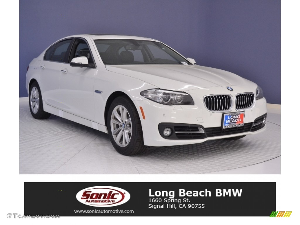 2016 Mineral White Metallic Bmw 5 Series 535i Sedan 113007694