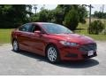 2016 Ruby Red Metallic Ford Fusion SE #113007781