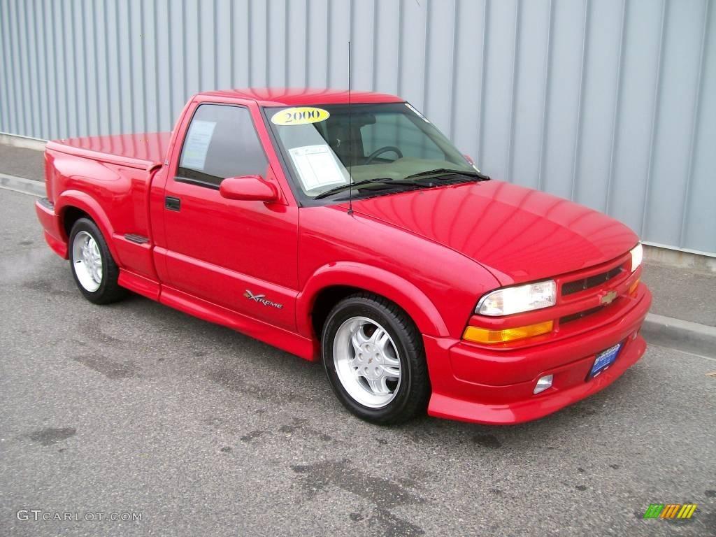 2000 victory red chevrolet s10 xtreme regular cab 1085818 gtcarlot