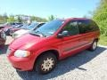 2004 Inferno Red Tinted Pearlcoat Chrysler Town & Country LX #113007650