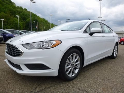 2017 Ford Fusion SE Data, Info and Specs