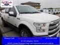 White Platinum 2016 Ford F150 King Ranch SuperCrew 4x4