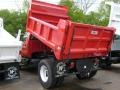 2008 Red Ford F650 Super Duty XLT Regular Cab Chassis Dump Truck  photo #2