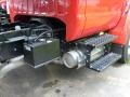 2008 Red Ford F650 Super Duty XLT Regular Cab Chassis Dump Truck  photo #12