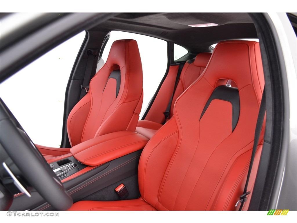 Mugello Red Interior 2016 BMW X6 M Standard X6 M Model ...
