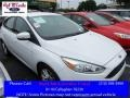 Oxford White 2015 Ford Focus SE Hatchback