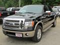 Tuxedo Black Metallic 2011 Ford F150 King Ranch SuperCrew 4x4