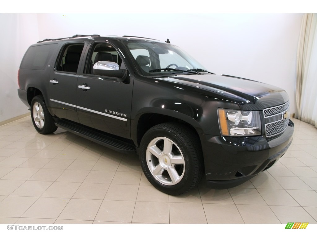 2014 Black Chevrolet Suburban Ltz 4x4 113122346