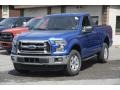 Blue Flame 2016 Ford F150 XLT Regular Cab 4x4