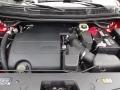 2016 Ruby Red Metallic Tri-Coat Ford Explorer XLT 4WD  photo #9