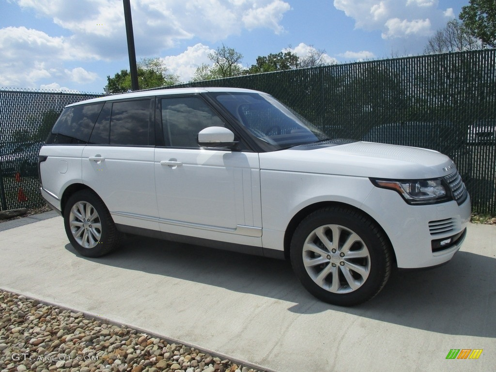 2016 Range Rover HSE - Fuji White / Espresso/Almond photo #1
