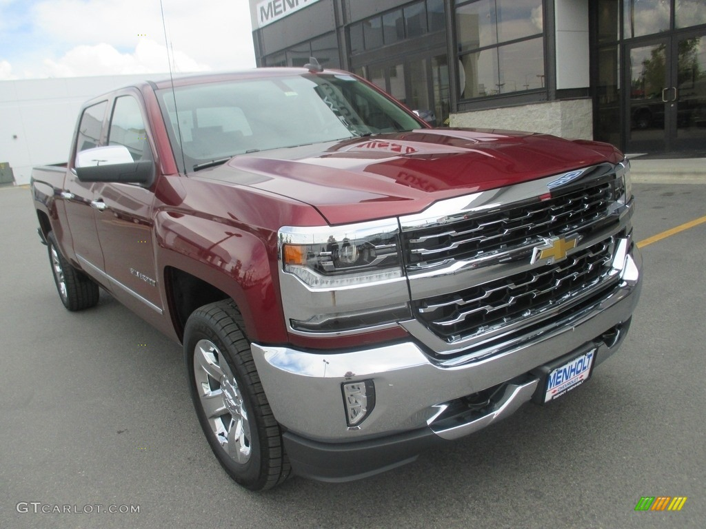 2016 siren red tintcoat chevrolet silverado 1500 ltz crew. Black Bedroom Furniture Sets. Home Design Ideas