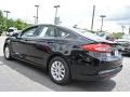 2017 Shadow Black Ford Fusion S  photo #19