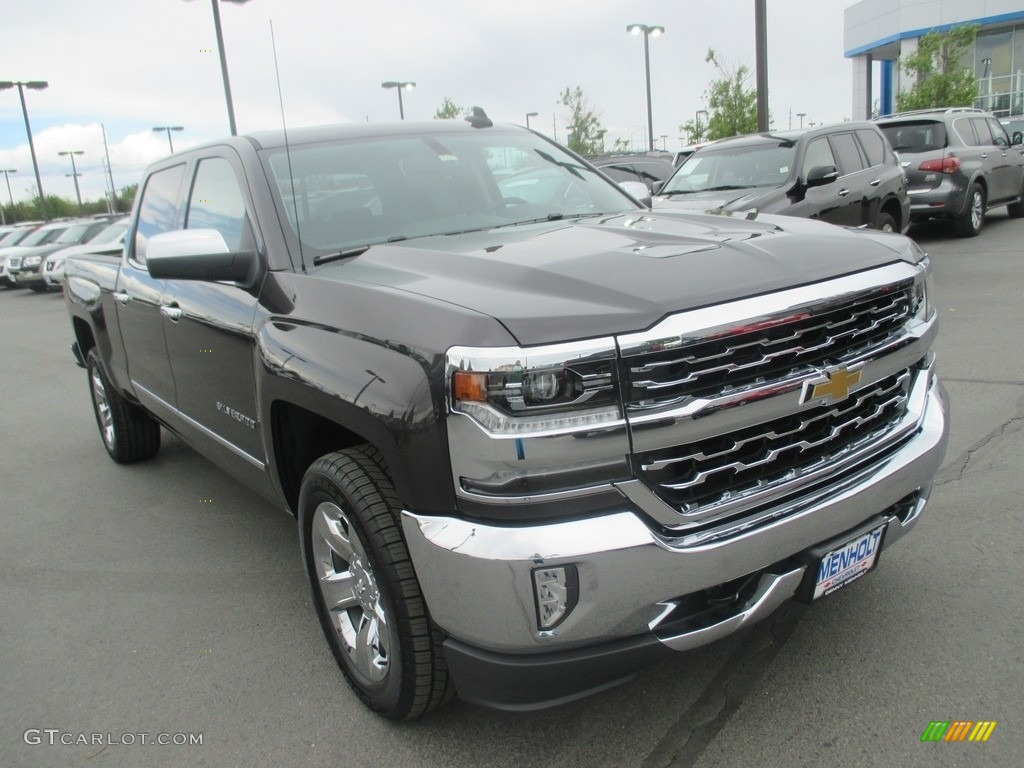 2016 tungsten metallic chevrolet silverado 1500 ltz crew. Black Bedroom Furniture Sets. Home Design Ideas