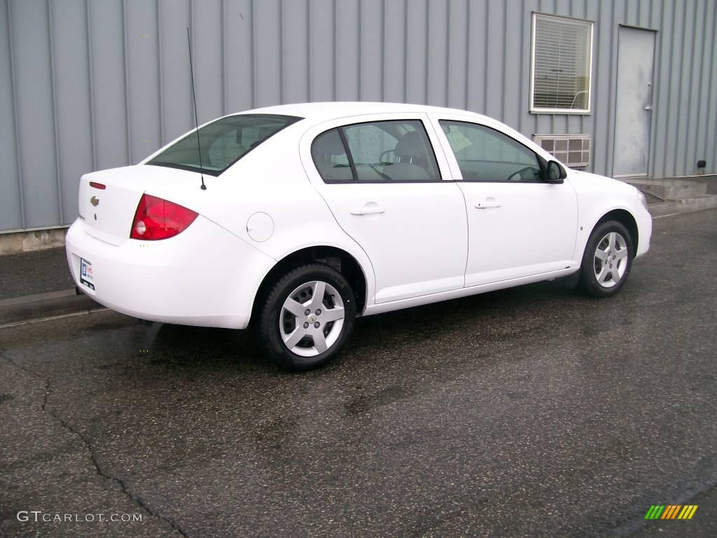 Chevy Cobalt White Paint