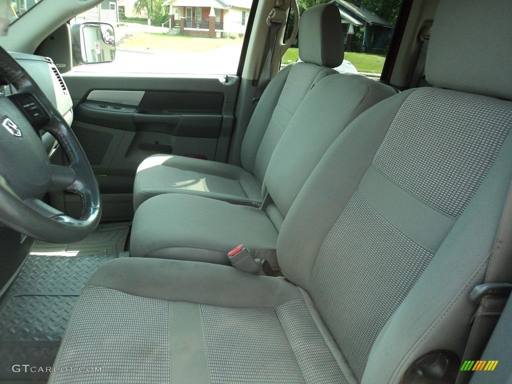 2008 Ram 3500 SLT Quad Cab 4x4 Dually - Inferno Red Crystal Pearl / Medium Slate Gray photo #6